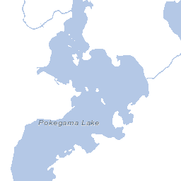 Pokegama Lake - Pokegama lake map